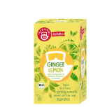 Teekanne Bio Ginger Lemon, 20 ks