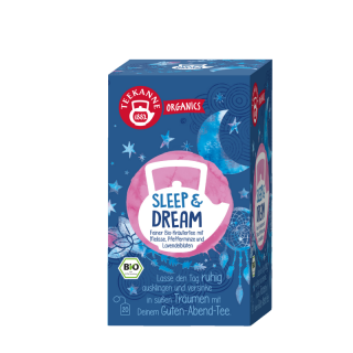 Teekanne Bio Sleep & Dream, 20 ks